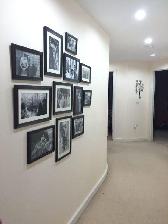 Hallway frame wall