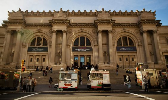 The overpopulation of food vendors in front of the Metropolitan Museum of Art prompted city surveillance in January to confirm whether they were disabled veterans or stand-ins.