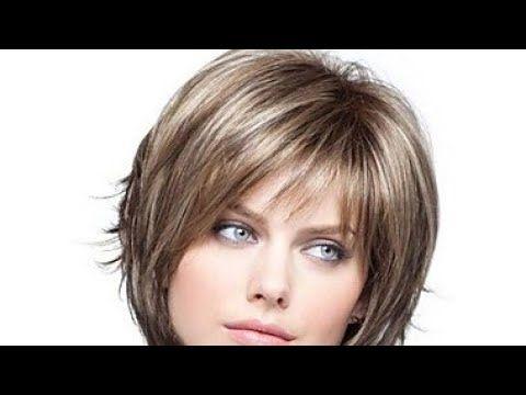 قصات شعر قصير روعة 2019 Coupe De Cheveux Short Hair Styles 2019 Youtube Short Hair With Layers Thick Hair Styles Short Layered Bob Hairstyles