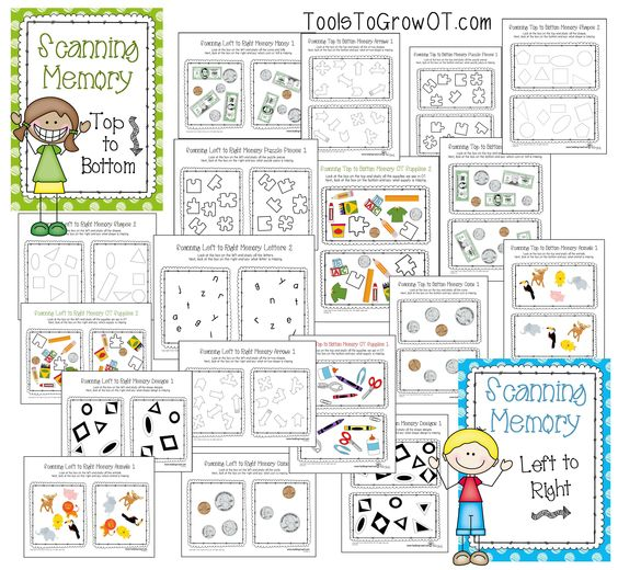 Visual Memory Scanning Resources Visual perceptual worksheets for – Visual Memory Worksheets