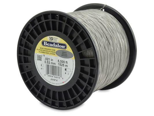 19strd Wire .021' Bright 5000'