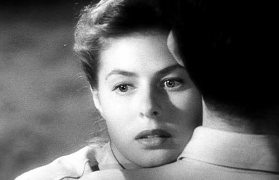 """Ingrid Bergman was yet another one of Hitch's muses playing in Spellbound (1945), Notorious (1946), Under Capricorn (1949).  There's a running debate as to whether they did or didn't have an affair, with those on the """"did"""" side believing Ingrid begged Alfred to leave Alma. When the director refused, Bergman threw herself at Roberto Rossellini, and the adulterous affair yielded twin love-children (one of whom is Isabella Rossellini)."""