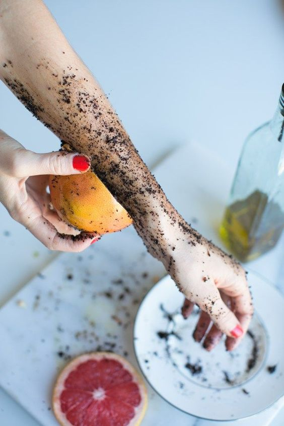 Coffee DIY Body Scrub                                                                                                                                                                                 More #detoxbodyscrub