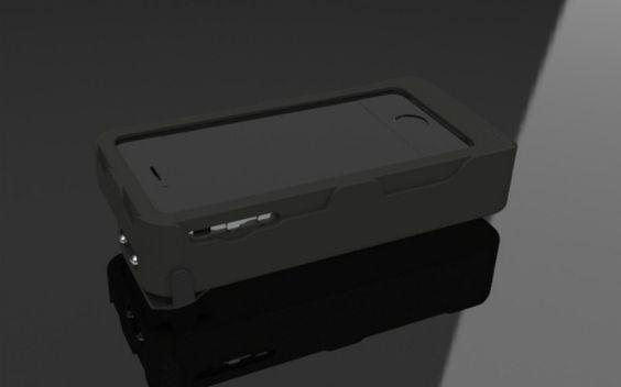 iPhone Case Doubles as a Stun Gun