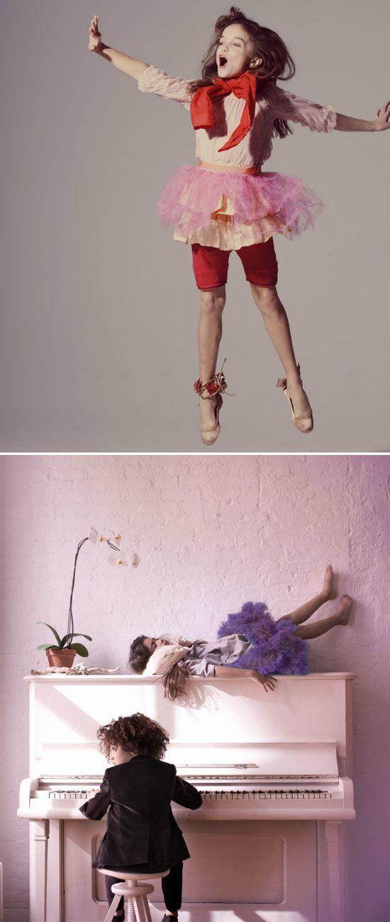 kid's fashion photos. incredible!