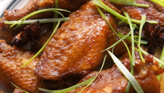 Soy Sauce Chicken Wings Recipe