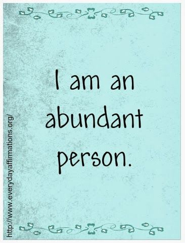 Everyday Affirmations for Daily Positivity: Daily Affirmations - 7 December 2013