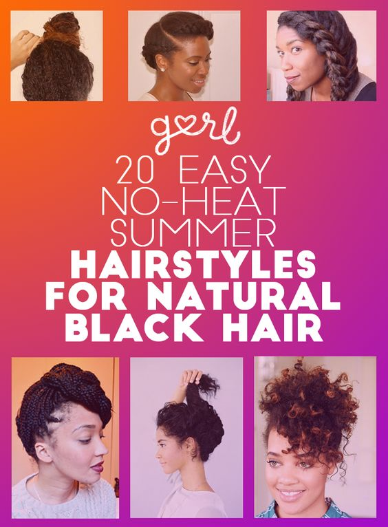 no heat styles for hair black read more and on 9741