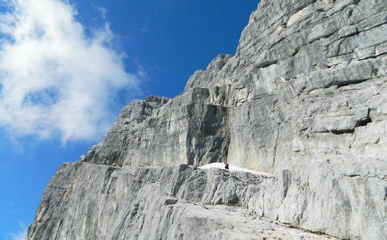 Wiederroute: Vom Watzmannkar auf die Watzmann Mittelspitze 2.713 Meter - Berchtesgadener Land Blog