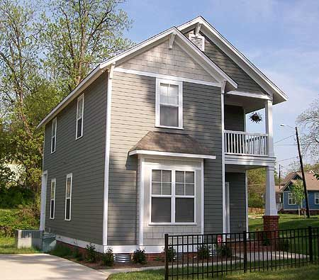 Plan 10047tt two story queen anne queen anne vintage for Narrow corner lot house plans