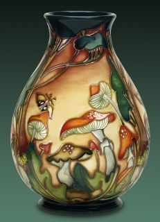 "Moorcroft Pottery ""Forest Floor"" Designer: Nicola Slaney. One day I will own a piece  of Moorcroft!"