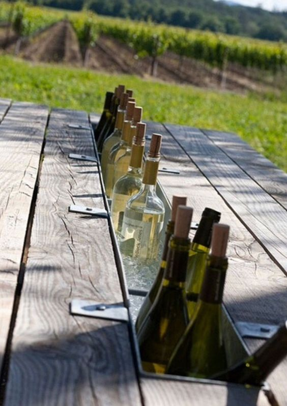 Table for wine