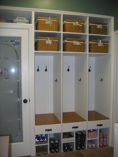 Kids Cubbies Lockers And Laundry Rooms On Pinterest