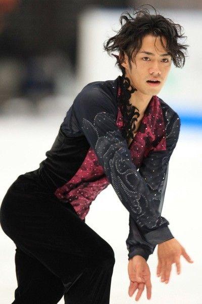 2010ジャパンオープンの高橋大輔さん