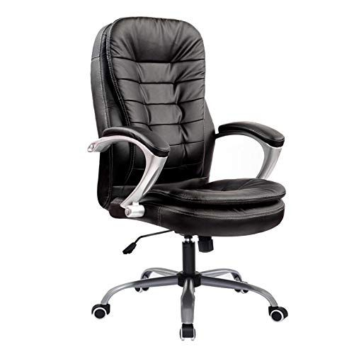 Liulife Office Chair Pu Leather Swivel Executive Armchair Pc Desk Computer Seat Height Adjustabl Leather Office Chair Quality Office Chairs Cheap Office Chairs