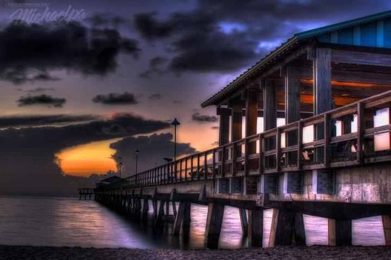 Pier @ Lauderdale by the sea.