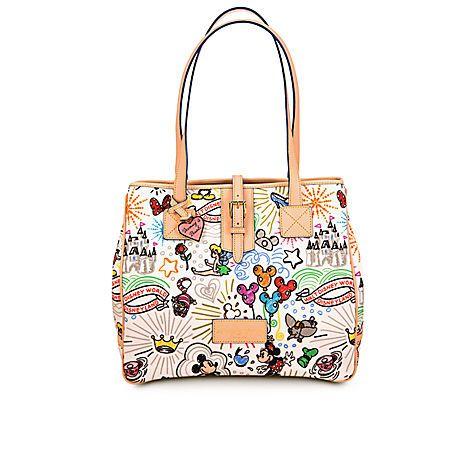 Disney Sketch Tote Bag by Dooney & Bourke - Large   Bags & Totes   Disney Store