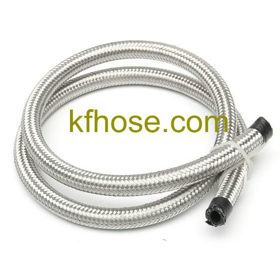 Hot Auto Cars An4 Stainless Steel Braided Outside Oil Cooler Hose For Racing Car Trucks Motorcycles Sae J1532 3 20 Cars Trucks Race Cars Stainless