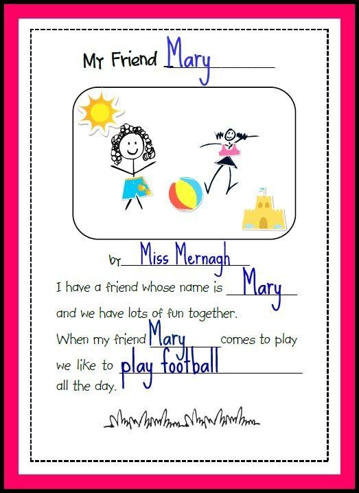 Image Result For Friendship Poem Kid Kindergarten Activities Essay On My Favourite Book In Hindi Clas 2