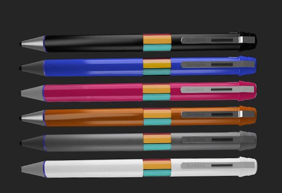 Scribble, a pen that can draw any color in the world, takes your creativity to the next level, pick any shade and scribble anywhere you like