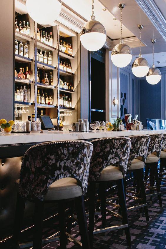 interior design services atlanta - Ultimate Design of Bar Margot in Four Seasons Hotel tlanta Four ...