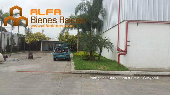 Se alquila bodega de 297m2 - Vía a Daule - Guayaquil  Para mayor información ver el link: