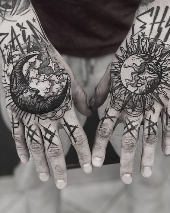Best Hand Tattoo Ideas For Men Inked Guys Positivefox Com Hand Tattoos Tattoos Hand Tattoos For Guys