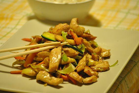 bocconcini di pollo caramellati alla soia...by sorelle in pentola