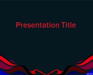 This Free Graphic For Powerpoint Presentation Is A Background With Colors And Dark Theme That You Can Downl Presentation Simple Powerpoint Templates Powerpoint