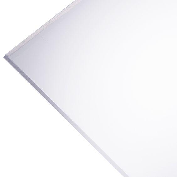 Plaskolite Optix 2 5 Mm Acrylic Panel 24 X 48 Clear 49068 Rona Acrylic Panels Acrylic Sheets Plastic Sheets