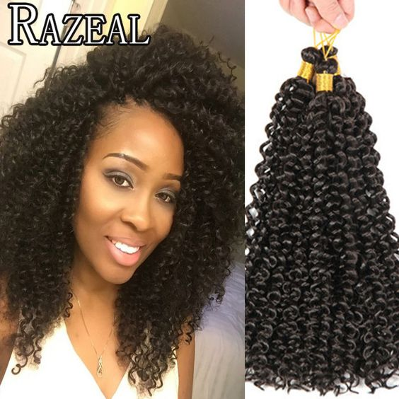 Crochet Hair Aliexpress : aliexpress.com/store/product/3pcs-Set-14-Afro-Kinky-Twist-Hair-Crochet ...