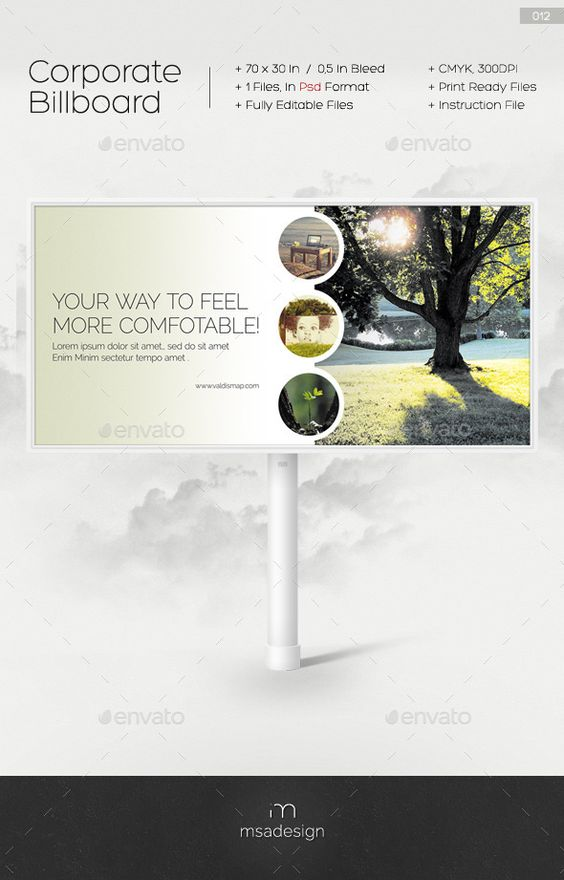 Corporate Billboard Template #design Download: http://graphicriver.net/item/corporate-billboard-012/9314437?ref=ksioks