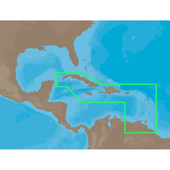 C-MAP NT+ NA-C501 - Cuba-Trinidad - Furuno FP-Card