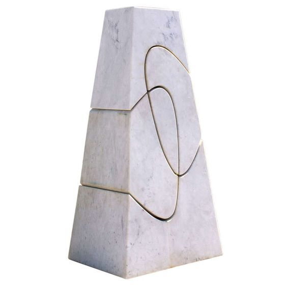 """Exceptional Sculpture """"Monumental Cambiamiento"""" By Angelo Mangiarotti, 2006 