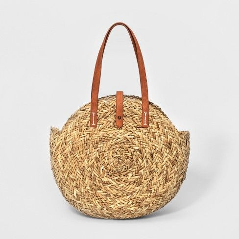 Shopper Straw Tote Handbag - Universal Thread™ : Target, for the perfect Charleston summer outfit