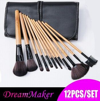 ❤ $12.22!!! Professional 12 Pcs Cosmetic Makeup Brushes Set ❤ purchase link: http://www.aliexpress.com/store/product/DM1028/1627088_32262630079.html