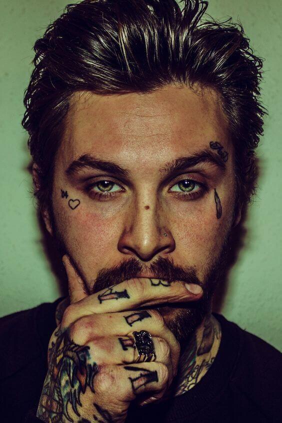 Teardrop Tattoos For Men Inkspiration Mens Face Tattoos
