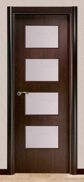 Modelo moderna l4vb puertas pinterest puertas for Modelos de puertas de metal modernas