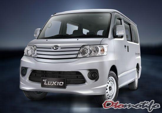 Harga Daihatsu Luxio 2020 Spesifikasi Interior Gambar Mobil