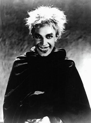 """Conrad Veidt. This is an early version of Gwynplaine from """"The Man Who Laughed"""""""