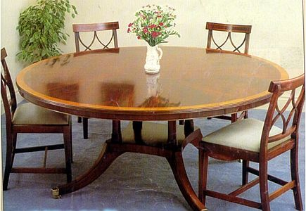 Large Round Dining Room Tables This Is Beautiful Round Table The