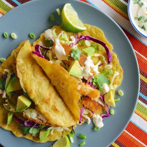 Fish Tacos With Lime Crema Recipe Candida Recipes Candida Diet Recipes Candida Diet