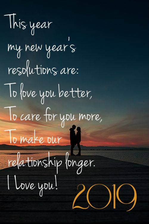 New Year Wishes For Girlfriend 2019quoteshappynewyearforher Happynewyear2019 2019happynewye Quotes About New Year Love Quotes For Her Happy New Year Quotes