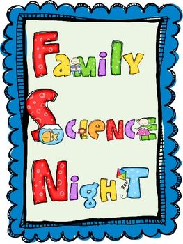 Family science night - science experiments