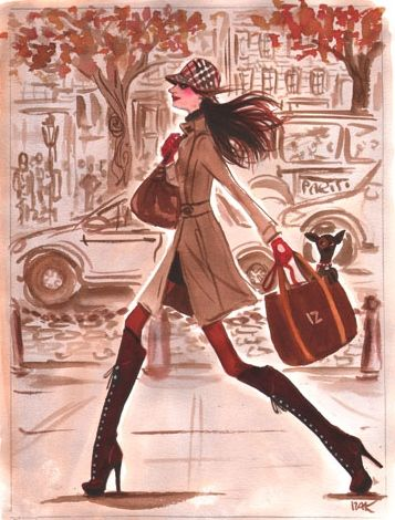 Pin by Linda Bolin on Fashion Illustrations Pinterest Bags