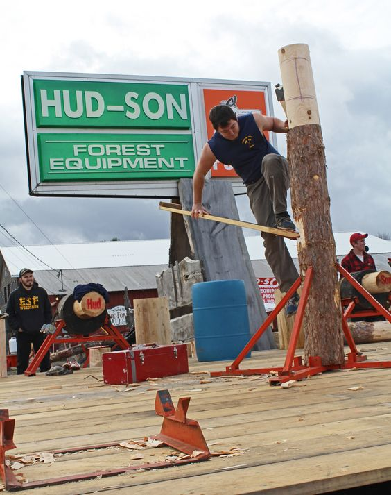 #lumberjack #lumberjill #timbersports #chainsaw #woodsmen #forestry #athlete #college #upstate #NY #upstateny #outdoors #beoutside #lumber #competition #paulsmithcollege #SUNYESF #SUNYCobleskill