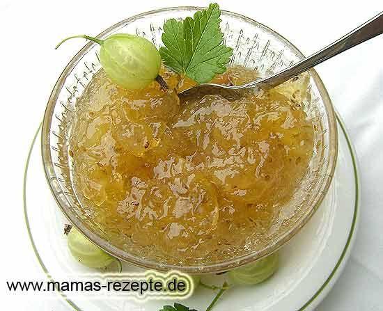 Stachelbeeren Marmelade