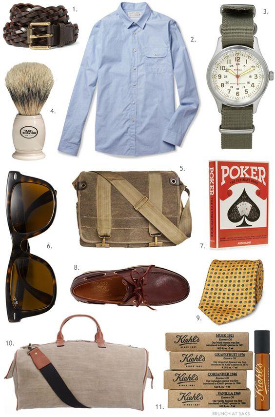 men's gift guide: