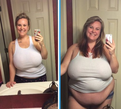 Ssbbw weight gain pictures