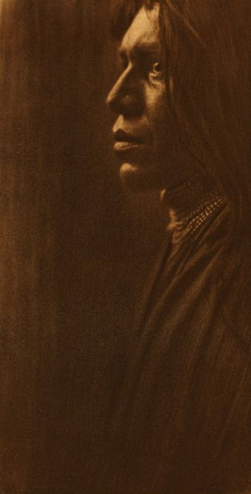 Edward S. Curtis - The Yuma, 1907 from The North American Indian ~ Cornell University Exhibit: